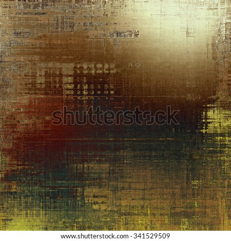 Designed grunge texture or retro background. With different color patterns: yellow (beige); brown; gray; black - stock photo