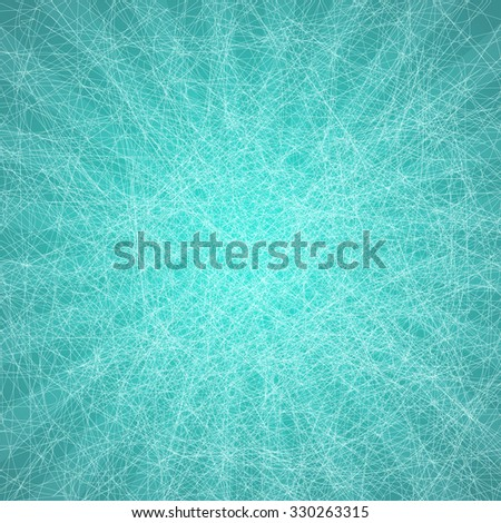 Designed grunge turquoise paper texture, background