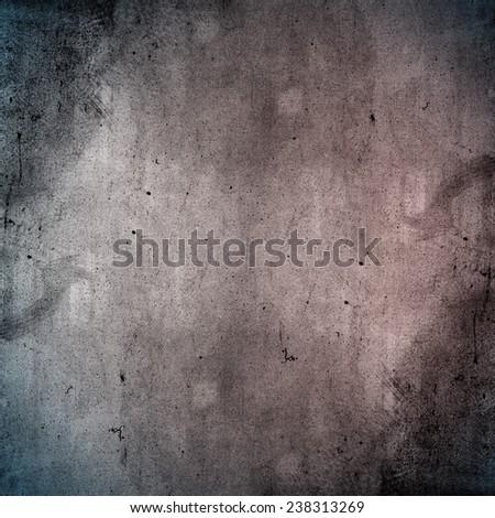 Designed medium format film background with heavy grain, dust and light leak - stock photo