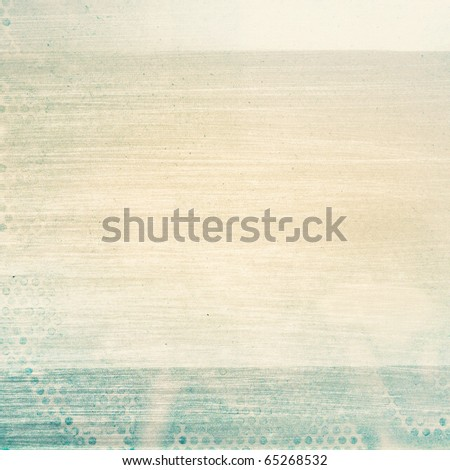 Designed old paper background, texture - stock photo