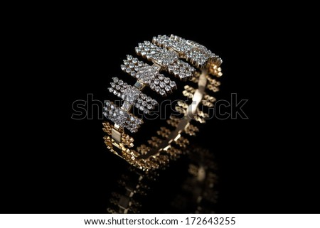 Diamond Bangle Stock Royalty Free & Vectors