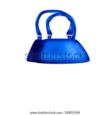 Designer Female Bags - stock photo