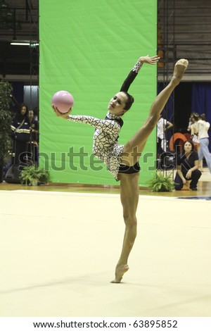 DESIO, ITALY - OCTOBER 23: Meta Rivkin during the A1 Italian Championship, First round on October 23 2010 - Desio, Italy. - stock photo