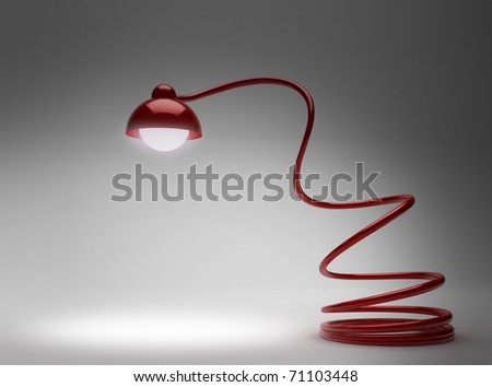 Desk Lamp - stock photo