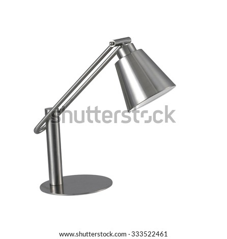 Desk Lamp, isolated - stock photo