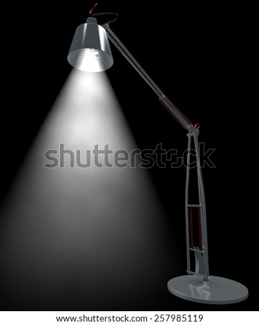 Desk lamp, light, illuminate, bulb