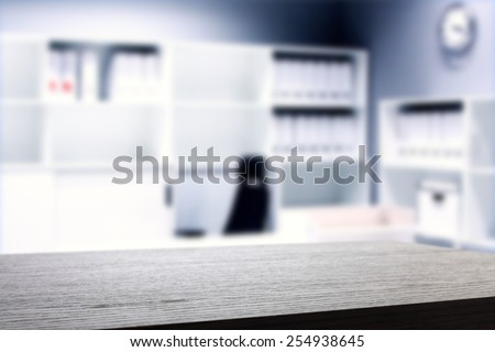 desk of office  - stock photo