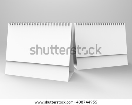 Desktop Calendar 3D Render is a professional Desktop Calendar setup that will allow you to create and present a realistic display for your unique Desktop Calendars with Spiral in a professional way. - stock photo