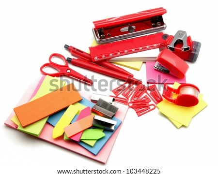 Desktop Objects - stock photo