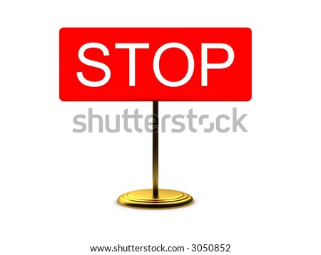 desktop tablet - stop (for printing or web) - stock photo