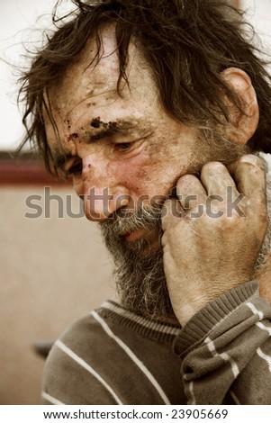 Despair. - stock photo