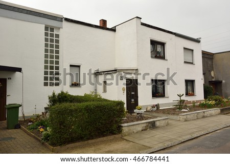 Dessaurosslau germany april 14 2016 residential stock for Pool design dessau