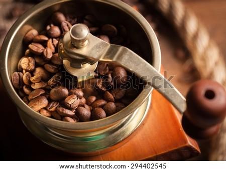 Dessert, mocha, cafe. - stock photo
