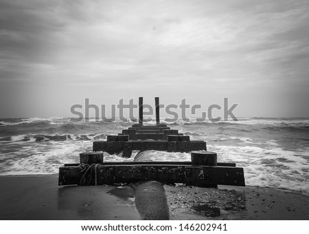 Destruction - stock photo