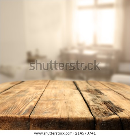 detable top with wooden window and sun  - stock photo