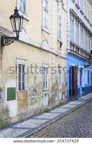 Detail in Prague - stock photo