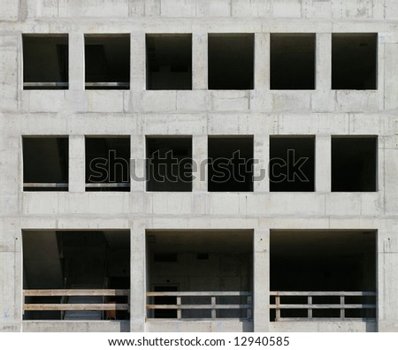detail of a construction site - stock photo