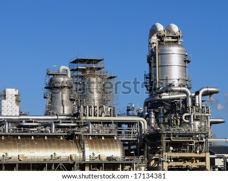 detail of a Refinery plant