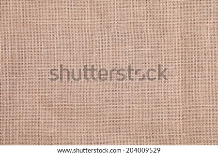 detail of a rustic and old sackcloth texture - stock photo