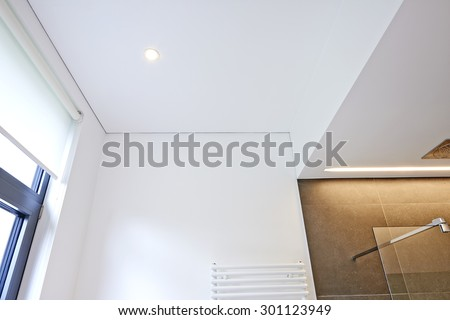 Detail of a vaulted ceiling without joints - stock photo