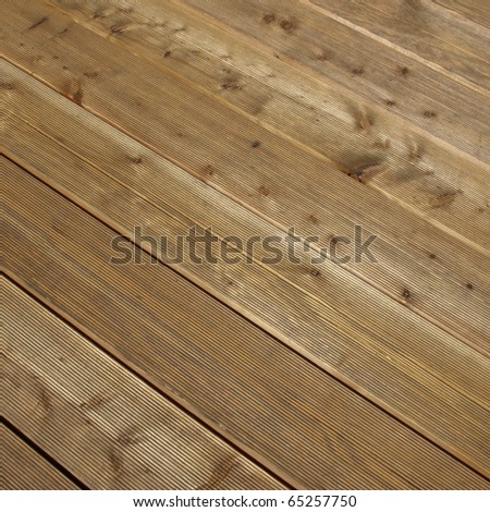 Detail of a wood plank board background - stock photo