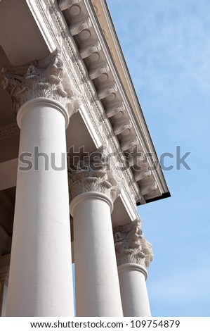Detail of Classical Architecture - stock photo