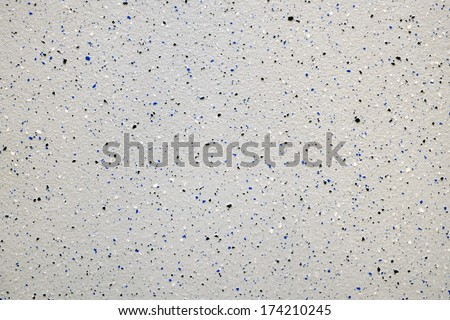 detail of completed epoxy product applied tothe floor of an industrial building - stock photo