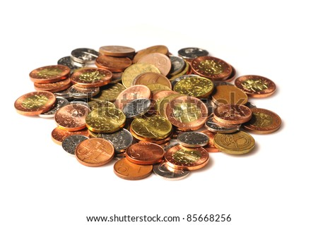 Detail of Czech Republic currency - stock photo