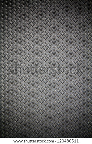 Detail of Gray Car Seat. - stock photo