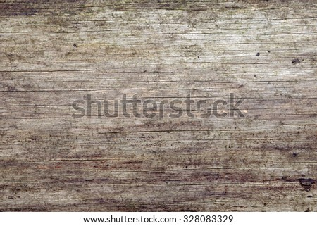 Detail of old rusty weathered wood tile background - stock photo