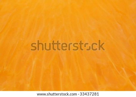 Detail of orange - stock photo