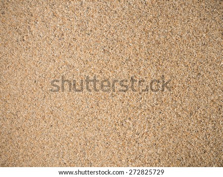 Detail of sea sand background texture. - stock photo