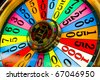 detail of slot machine at the airport, Las Vegas, Nevada, USA - stock photo