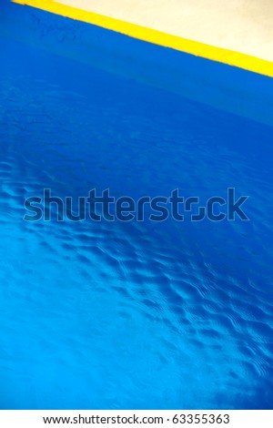 Detail of swimming pool, abstract background - stock photo