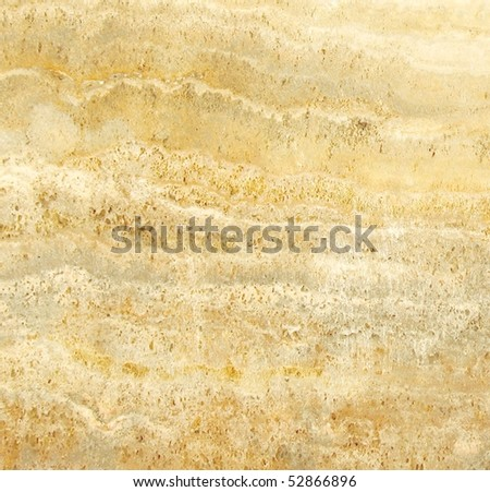 detail of travertine texture - stock photo