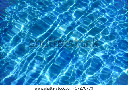 Detail of water surface, abstract background - stock photo