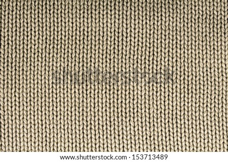 Detail of woven wool as a background image - stock photo
