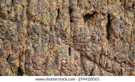 detail stone surface - stock photo