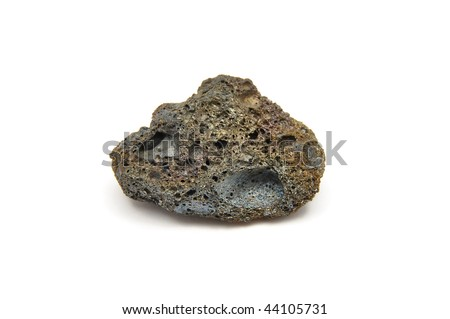 Detailed and colorful image of lava stone - stock photo