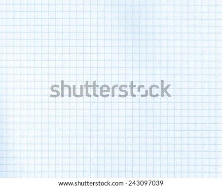 Detailed blank math paper pattern texture - stock photo