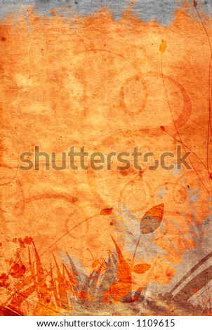 Detailed grunge background 2 (check the portfolio for a similar version) - stock photo