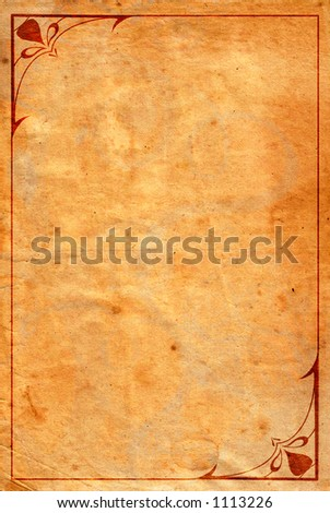 Detailed grunge background 03 (with ornamental frame)