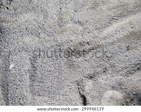 Detailed photo of slick grey fine gravel - great as background or texture