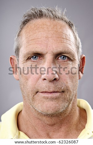 detailed portrait of an old man. highly detailed, must see at full size - stock photo
