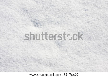 Detailed snow texture background - stock photo