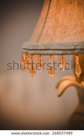 Details inside a home in all rooms - stock photo