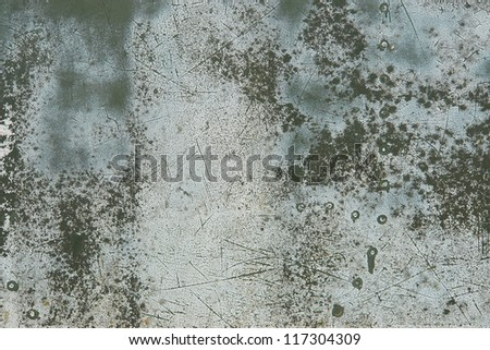 Details of an old grungy army aircraft............. - stock photo