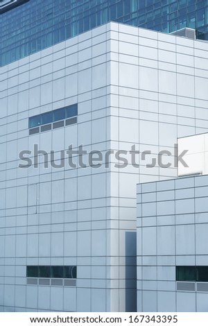 Details of office building - stock photo