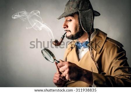 Detective - stock photo