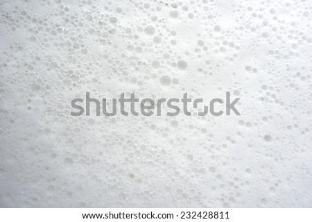 detergent foam bubble - stock photo